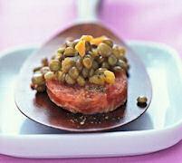Minicotechino e lenticchie